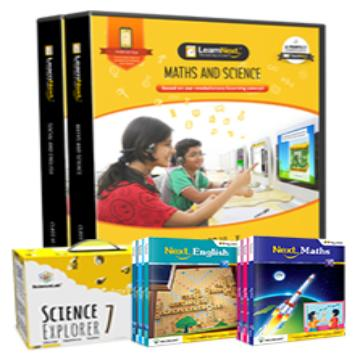 CBSE 7 Maths, Science, English and Social Science with All India Test Series, Science Kits, English Book and Maths Book