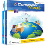 CBSE Class 5 - Computer Masti (Set of 2 Books)
