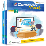 CBSE Class 4 - Computer Masti (Set of 2 Books)