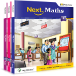 Maths - Class 8 (Set of 3 Books)