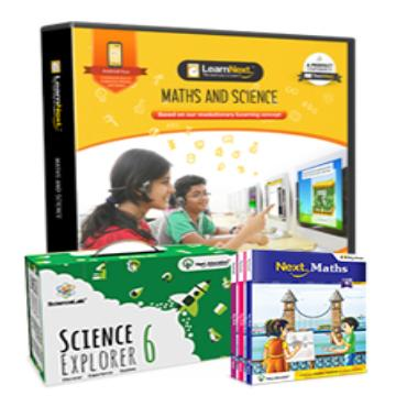 CBSE 6 Maths and Science with All India Test Series, Science Kits, Maths Book