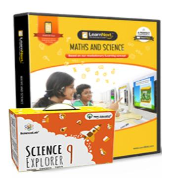 CBSE 9 Maths and Science with All India Test Series, Science Kits