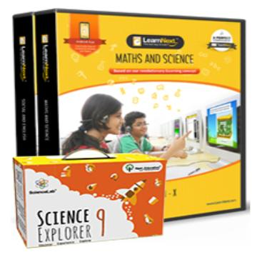 CBSE 9 Maths, Science, English and Social Science with All India Test Series, Science Kits